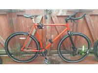Mango fixed gear.. single speed road bike. Can deliver