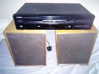 Celestion H pair Din 45 500 RARE speakers + Yamaha DVD-S796