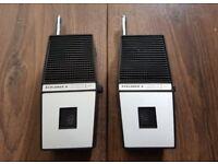 FANON FCB 30 Explorer 2 Walkie Talkie Radio Transceivers Vintage