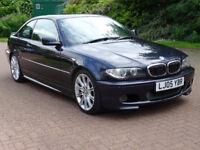 2005 05 BMW 3 SERIES,3.0 330CD SPORT 2d AUTO 202 BHP*PART EX WELCOME*