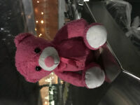 Little pink bear found at superstore Sargent Ave.