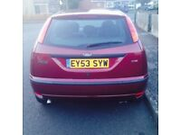 FORD FOCUS 2003 1.8 TDCI 2003 TAXED AND MOTED BARGAIN