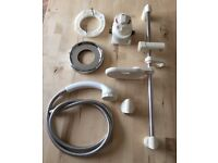 Mira excel thermostatic mixer valve complete with riser rail kit