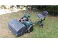 "Atco 30"" cylinder mower for spares or repair."