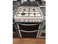 New Ex-Display Logik LFTG60W16 White 60cm Gas Cooker £219