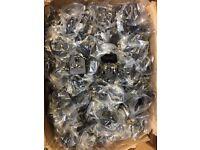 Wholesale European 2-Pin To UK Travel Plug 3-Pin Socket Adaptor Converter Joblot
