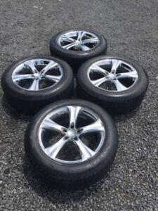 """18"""" BOSS Rims with BFG tires"""