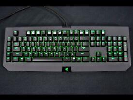 Razed Blackwidow Keyboard