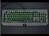 Razed Blackwidow Keyboard