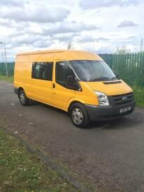 2011 FORD TRANSIT T350 CREWVAN##DIRECT FROM COUNCIL##