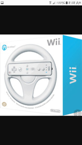 LOOKING for 2 WII wheels.