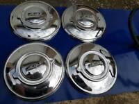 Jaguar mk3 chrome wheel trims