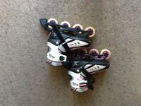 In line skates (size 3-6)