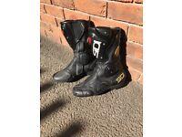Sidi Vertebra System boots, ACS Black, Size 7