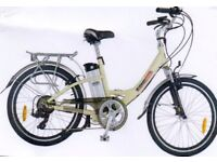 AXCESS EXMOOR LADIES ELECTRIC BIKE C/W BATTERY & CHARGER