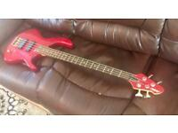 Peavey bass guitar and electric guitar rocket deluxe