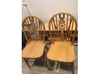 Set of two chairs , used