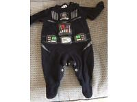 3-6 months boys sleepsuits