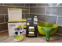 Joseph Joseph Colander, Sink Tidy, Washing up Brush for sale £12.00