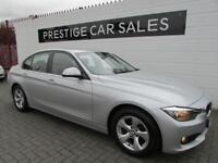 BMW 3 SERIES 2.0 320D EFFICIENTDYNAMICS 4d 161 BHP (silver) 2013