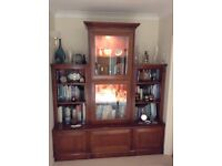 Beautiful quality Cherrywood Display Unit by Oak Fields of Honiton