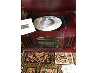 Reproduction Vintage Stero Record/CD Player