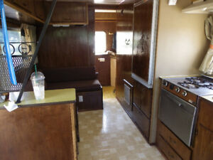 1972 Longhorn 2200 motorhome and boat