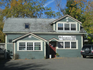 FOR LEASE COMMERCIAL INDEPENDENT BUILDING AT EXCELLENT LOCATION