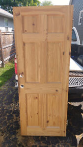Solid door slab