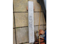 Concrete lintel R15 100 x 140 x 1120mm Reinforced Steel Bars