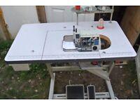 Brother industrial overlock sewing machine 2/3/4 thread Model M 600 Serial Number EF4-B651-051-7