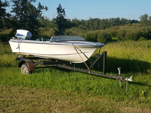 1969 70 speed boat with evinrude motor