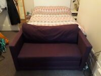 Small sofa bed for sale.
