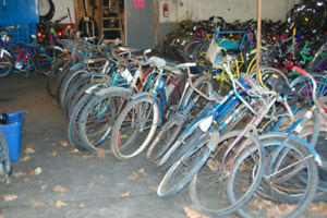 We Pick UP Old Bicycles * Donate you old bicycle here :D