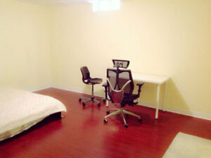 Private washroom, spacious basement room. Markham.  Hwy7/Kennedy