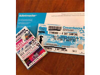 Creamfields standard 4 day camping festival ticket