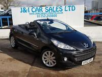 PEUGEOT 207 1.6 HDI CC GT 2d 112 BHP A LOW PRICE CONVERTIBLE (black) 2012