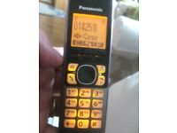Panasonic twin DECT KX-TG6712EB phone set. - NOW REDUCED