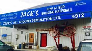 $500 Gift Certificate Jack's NEW/USED Building Supplies