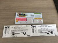 Car fest North weekend and camping ticket