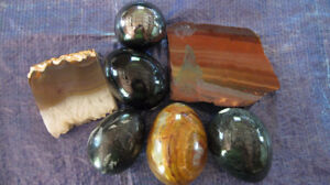Seven Piece Polished Mineral Assortment