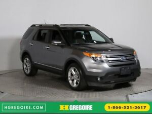 2013 Ford Explorer Limited AC CUIR MAGS NAV 7 PASS