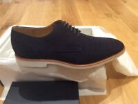 Hugo Boss Swinno dark blue shoe - Boxed, brand new.