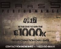 WIN OUR $1000 TRANSFORMATION CHALLENGE WITH A PERSONAL TRAINER!!