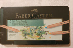 faber castell crayons PASTEL NEUF boîte 12