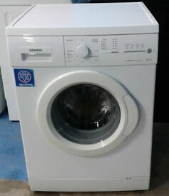 O522 white siemens 7kg 1400spin washing machine comes with warranty can be delivered or collected