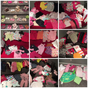 Everything you need for baby girl birth to 2 years