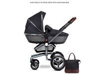 Silver Cross Special Edition Surf Pram & Pushchair - Henley