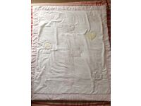 Mothercare cot bed quilt