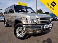 2001 ISUZU TROOPER 3.0 LWB DT INSIGNIA 5D 157 BHP! P/X WELCOME! AUTO! 2 OWNERS!